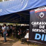 Más de mil personas beneficiadas por Caravana de Servicios DIF