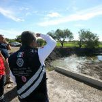 Mitigan riesgos por lluvias en Tejamanil