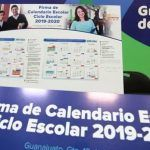 Presentan Calendario Escolar para el ciclo 2019-2020