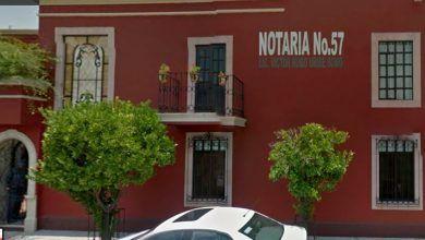 Photo of Explosión de notaría en Irapuato cimbró la calle Pedro Martínez Vázquez