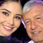 AMLO asegura que tiene buena amistad con Geraldine Ponce tras polémica
