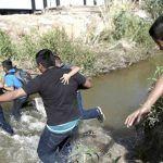 """""""Óscar me dijo que ya cruzáramos el río, que tuviera confianza y fe que nada pasaría"""""""