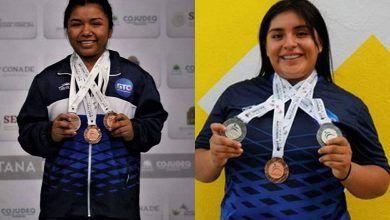 Photo of Guanajuatenses ganan medallas de plata y bronce en levantamiento de pesas