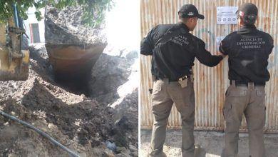 Photo of FGR asegura inmueble y toma clandestina de hidrocarburo