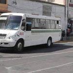 Analizarán aumento en la tarifa del transporte público