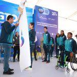 Abandera Gobernador a los atletas que asistirán a los Juegos Panamericanos de Lima 2019