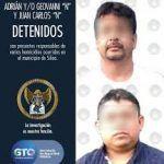 Capturan a dos asesinos del CJNG en Silao