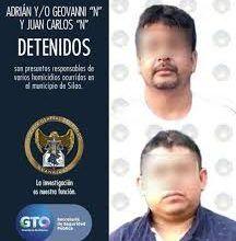 Photo of Capturan a dos asesinos del CJNG en Silao