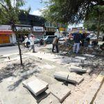 Continúan trabajos en Gómez Morín