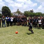"""Inaugura Jose Luis """"El Ardilla"""" Miranda escuela de futbol"""