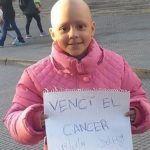 A sus 8 años de edad venció el cáncer con 52 quimioterapias