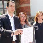 Presentan regidores panistas denuncia ante la ASEG por tema de luminarias en Salamanca