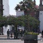 Vigila Guardia Nacional el Centro Histórico de Irapuato