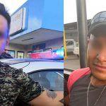 Policías de Irapuato, detienen a dos policías que estaban robando