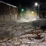 San Miguel de Allende entre hielo, árboles caídos, casas inundadas