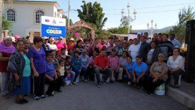 """Photo of Arranca programa """"Mi Colonia a Color"""" en la comunidad de San Gregorio"""