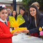 """Alcaldesa acude al arranque del ciclo escolar 2019-2020 en escuela """"Miguel Hidalgo"""""""