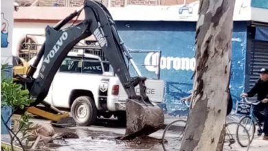 Photo of Iban a mejorar tubería y provocan fuga de agua