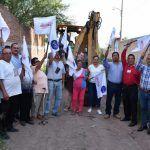 Inician obras de drenaje para colonias de cabecera