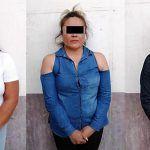 """Detienen a 3 mujeres por """"robar"""" y agredir a seguridad de plaza comercial"""