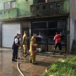 Arde en llamas panadería en Cuerámaro por corto circuito
