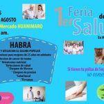 Asiste a la primera Feria de la Salud Huanímaro