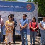 Casi tres millones de pesos en obras de pavimentación, en Huanímaro