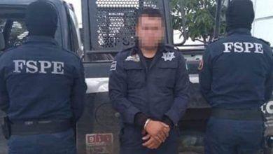 Photo of Detienen a policía municipal con droga y arma ilegal