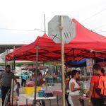 Tianguistas de Valle Verde protestan injusticias y vecinos se inconforman