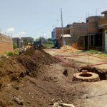 Dan inicio a obra de red de drenaje sanitario en  calle San Andrés