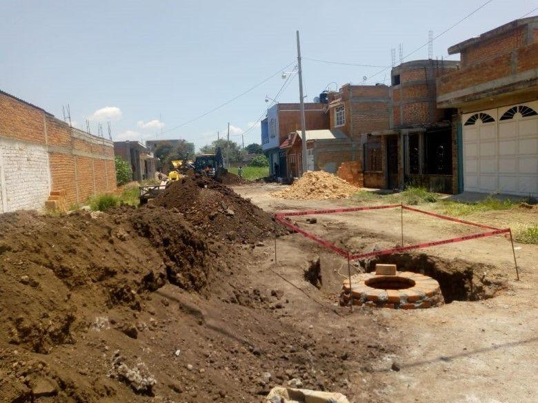 Dan Inicio A Obra De Red De Drenaje Sanitario En Calle San