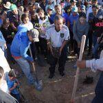 542 personas participan en Mega Reforestación