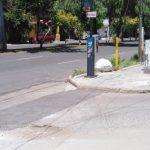 Bache sin atender en medio de la calle en colonia Las Reynas