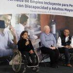 Acuden personas con discapacidad y adultos mayores a jornada de empleo