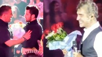 Photo of Alejandro Fernández defiende a guapo hombre que le lleva flores: VIDEO