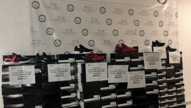 Photo of La FGR asegura más de 200 tenis falsificados