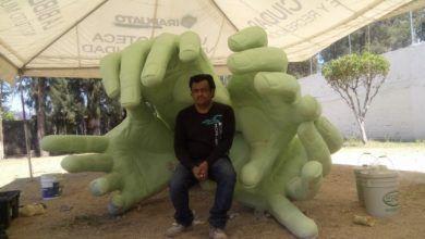 Photo of Orgullo irapuatense escultor Héctor Peralta