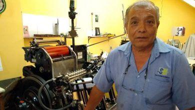 Photo of Mario Montesino, un sobreviviente de la tipografía