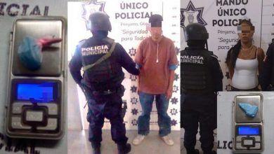 Photo of Detienen a hombre y mujer con droga en Pénjamo