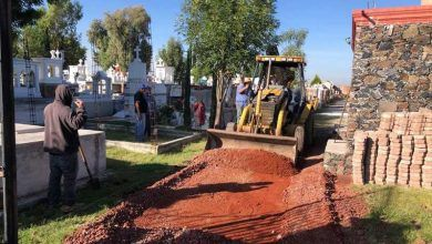 Photo of Avanzan trabajos de limpieza y mantenimiento Integral en el panteón municipal