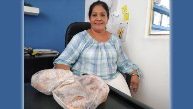 Photo of Silvia, emprendedora en consumo de carne de conejo en Ex Hacienda de la Calle