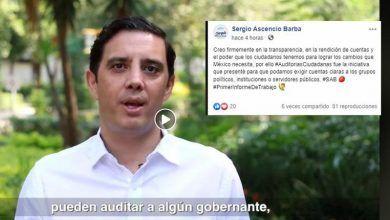 Photo of Diputado Sergio Ascencio dice creer en la transparencia, pero no hace declaración