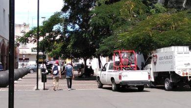 Photo of Dejan 'relucientes' plazas del centro histórico