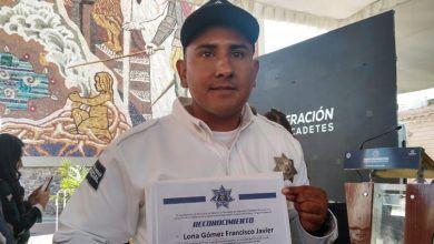 Photo of Un cadete comprometido con la ciudadanía