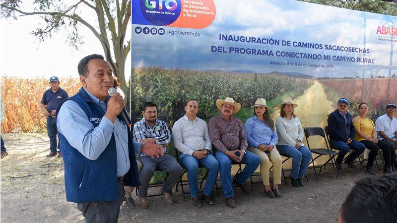 Inauguran Caminos Saca Cosechas en Abasolo - Periodico Notus
