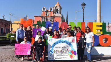 """Photo of Encabeza Presidenta del DIF Manuel Doblado """"Marcha por la Inclusión"""""""