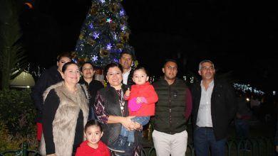 Photo of Familias neo-poblanas disfrutan en grande inicio de las fiestas decembrinas