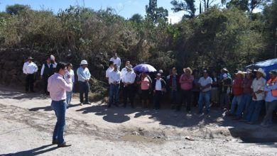 Photo of 130 metros de pavimentación en Zapote de Adjuntas