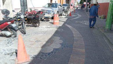 Photo of Realizan trabajos de mantenimiento de calles en Pueblo Nuevo