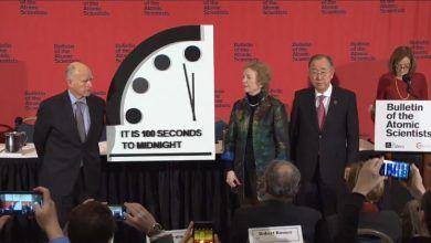 Photo of Científicos adelantan el 'Reloj del Apocalipsis': quedan cien segundos para el fin del mundo